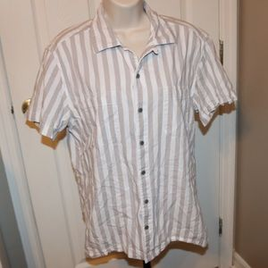Men's Medium Arizona striped shirt